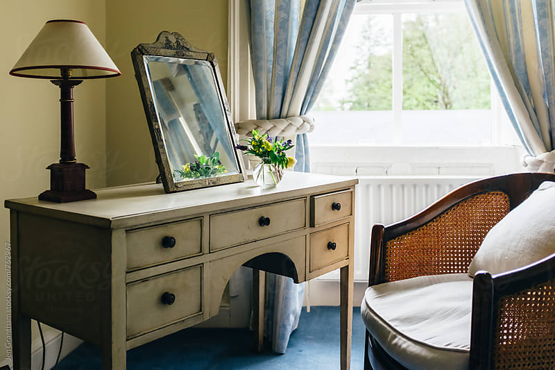 Old fashioned bedroom by Jen Grantham for Stocksy United