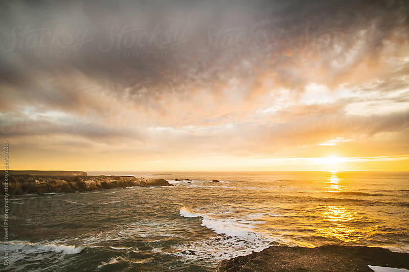 The California coast near Big Sur by Dylan M Howell Photography for Stocksy United