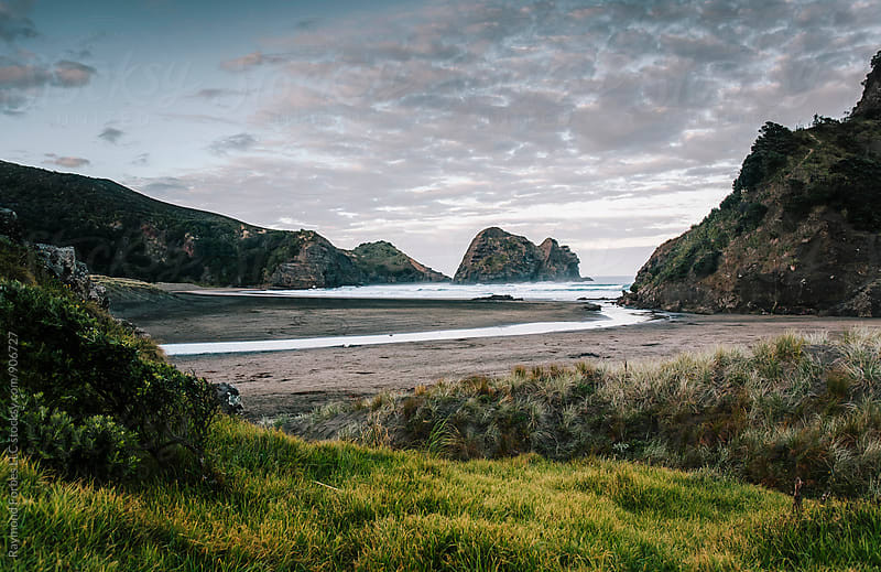 Piha Beach North Island, New Zealand by Raymond Forbes LLC for Stocksy United