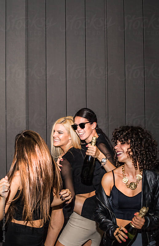Girls night out. by Marko Milanovic for Stocksy United