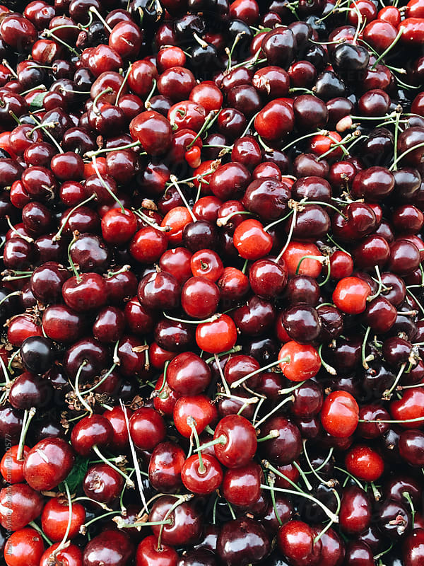 Cherries by juan moyano for Stocksy United