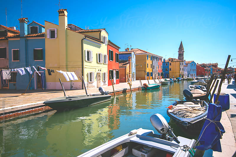 Colorful Burano by Brian Koprowski for Stocksy United