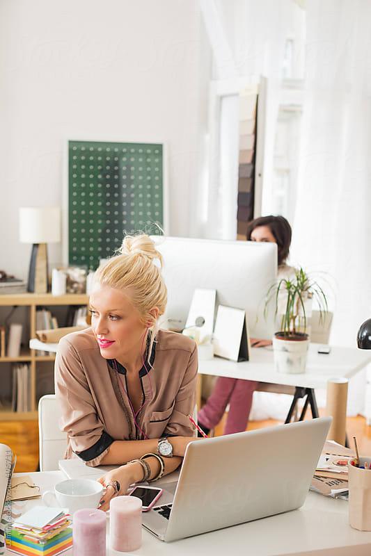 Businesswomen at Work by Lumina for Stocksy United
