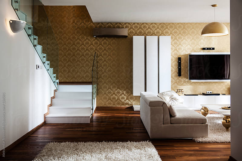 Contemporary house by Aleksandar Novoselski for Stocksy United