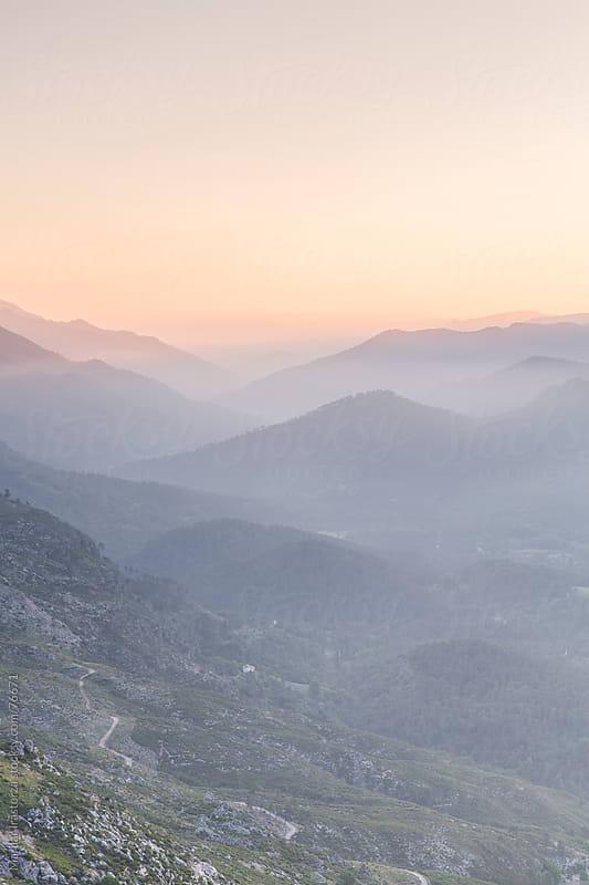 Sunrise in the Sierra de Cazorla in Jaén (Andalusia, Spain) by Marilar Irastorza for Stocksy United