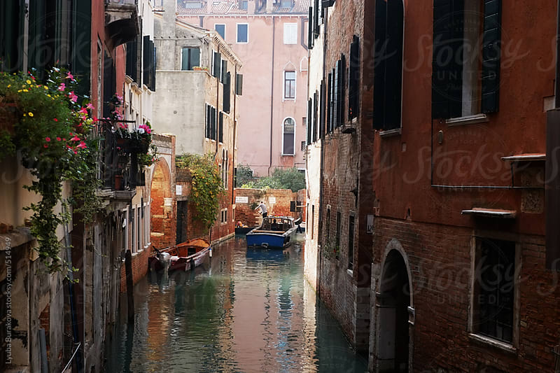 Small canal in Venice by Lyuba Burakova for Stocksy United