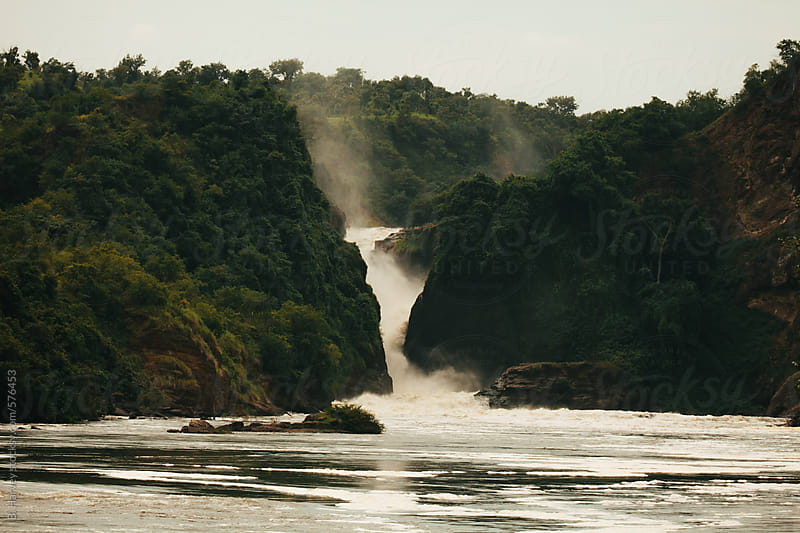 Murchison Falls Waterfall in Uganda by B. Harvey for Stocksy United