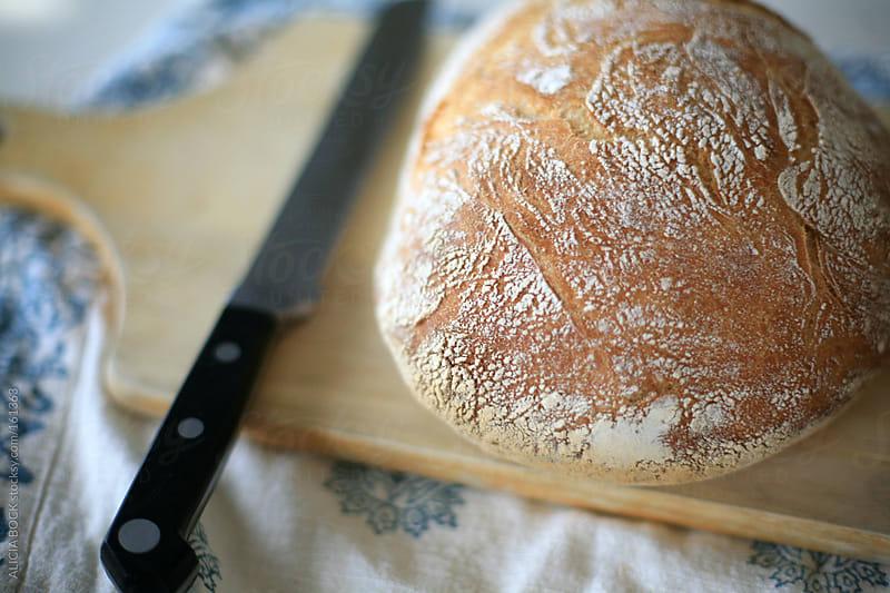 Fresh Artisian Bread by ALICIA BOCK for Stocksy United