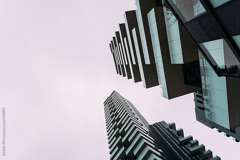 Modern skyscrapers in Milan by Davide Illini for Stocksy United