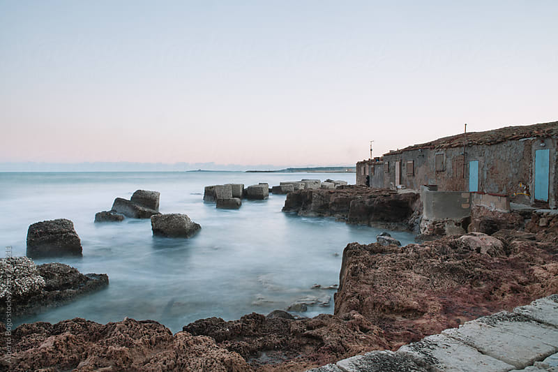 Old house at the seaside by Alberto Bogo for Stocksy United