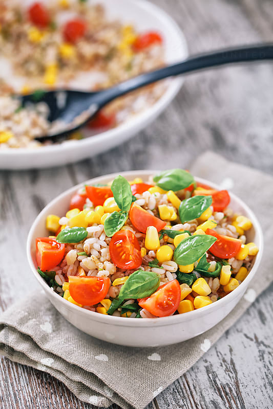 Orzo Salad. by Davide Illini for Stocksy United