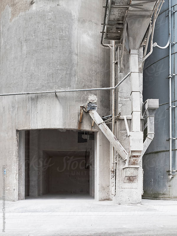 Old Cement Factory by Photographer Christian B for Stocksy United