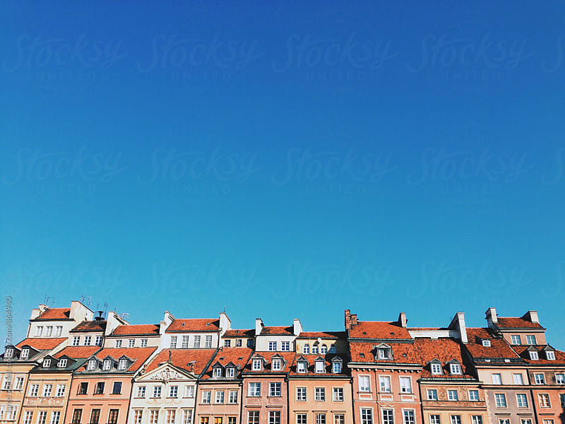 Old Town, Warsaw, Poland by Jared Harrell for Stocksy United