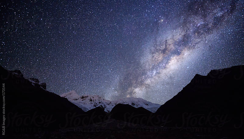 Marvelous starry night by RG&B Images for Stocksy United