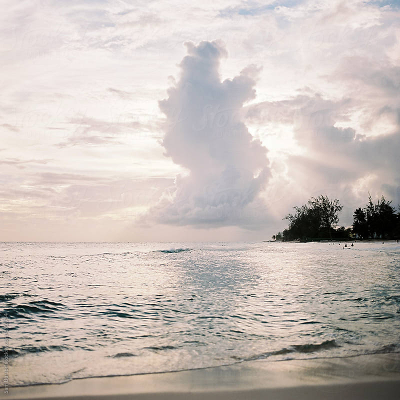 Sunset in Barbados by Sam Burton for Stocksy United