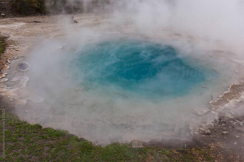 Yellowstone Hot Spring by Adam Nixon for Stocksy United
