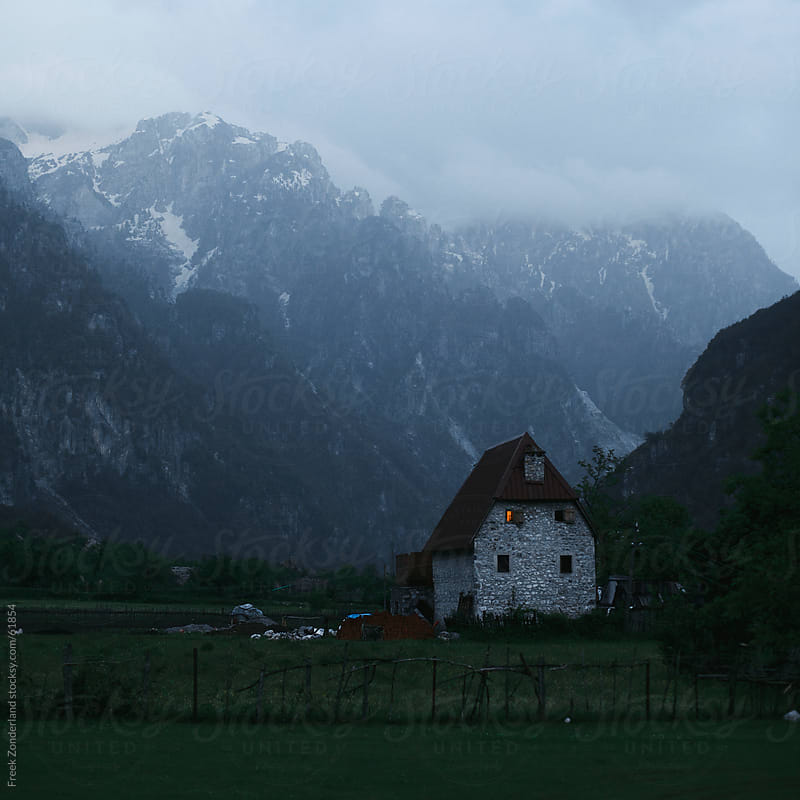 House in an Albanian Valley by Freek Zonderland for Stocksy United