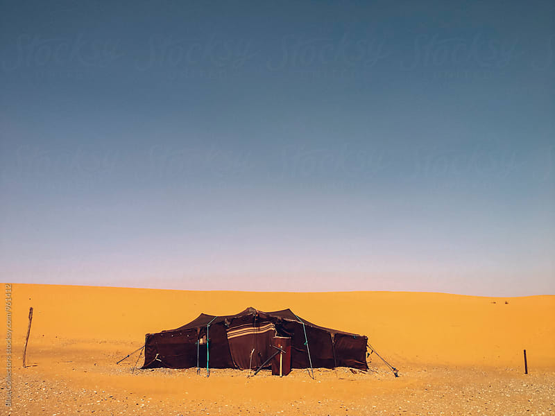 Jaima, Arabic tent in the desert by Jordi Rulló for Stocksy United