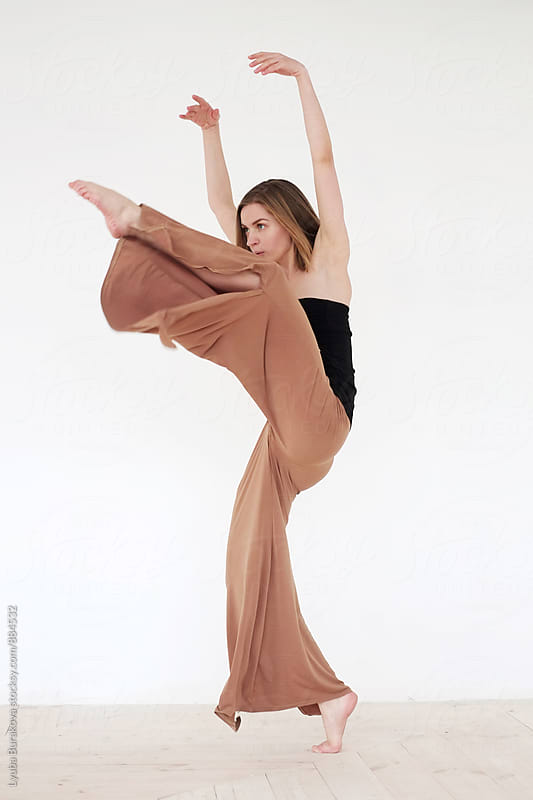 Contemporary dancer by Lyuba Burakova for Stocksy United