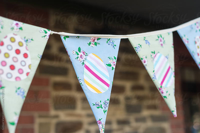 easter bunting by Gillian Vann for Stocksy United