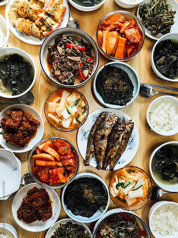 Korean Bapsang by Christine Han for Stocksy United