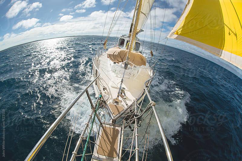 Yacht by John White for Stocksy United