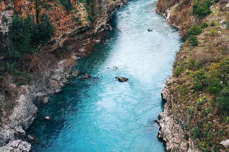 Clear blue water by Dimitrije Tanaskovic for Stocksy United