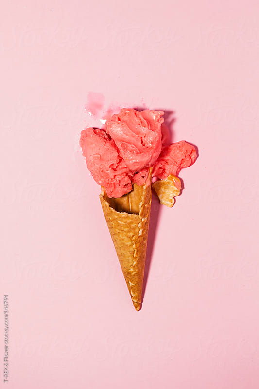 A broken ice cream by Danil Nevsky for Stocksy United
