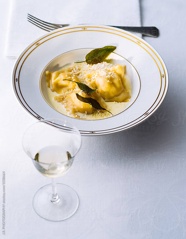 Homemade ravioli by J.R. PHOTOGRAPHY for Stocksy United