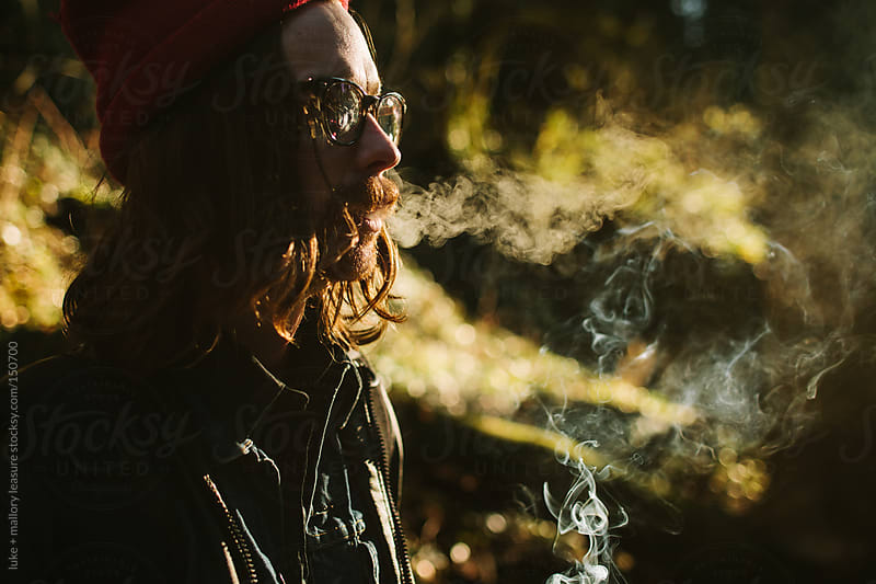 Nicotine by luke + mallory leasure for Stocksy United