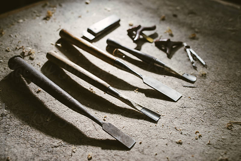 Various craftsman tools by Maa Hoo for Stocksy United