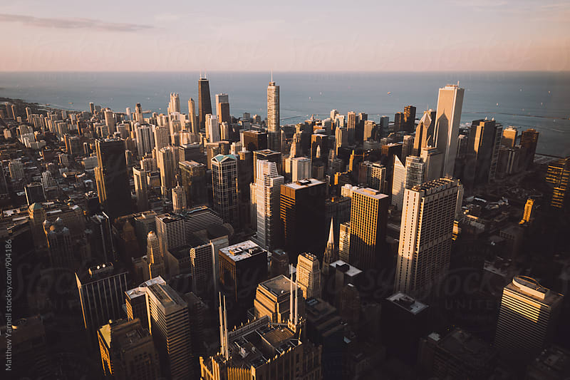 Chicago Skyline by Matthew Yarnell for Stocksy United