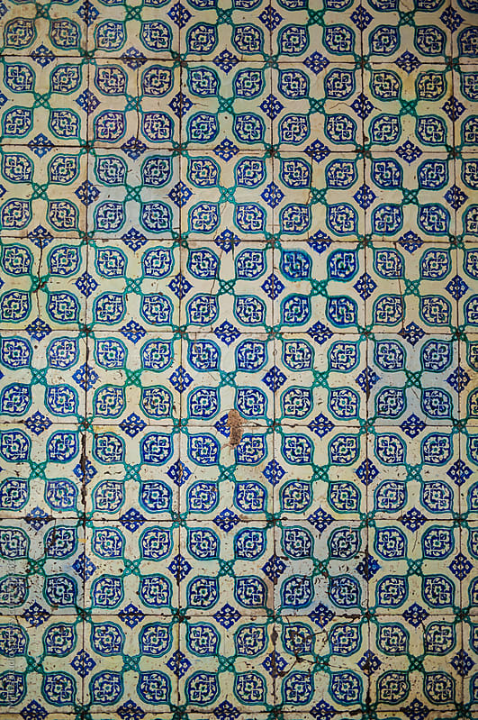 Old tile texture by Milles Studio for Stocksy United
