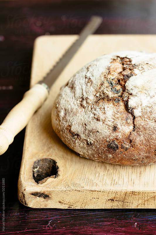 Loaf of rye bread by Harald Walker for Stocksy United