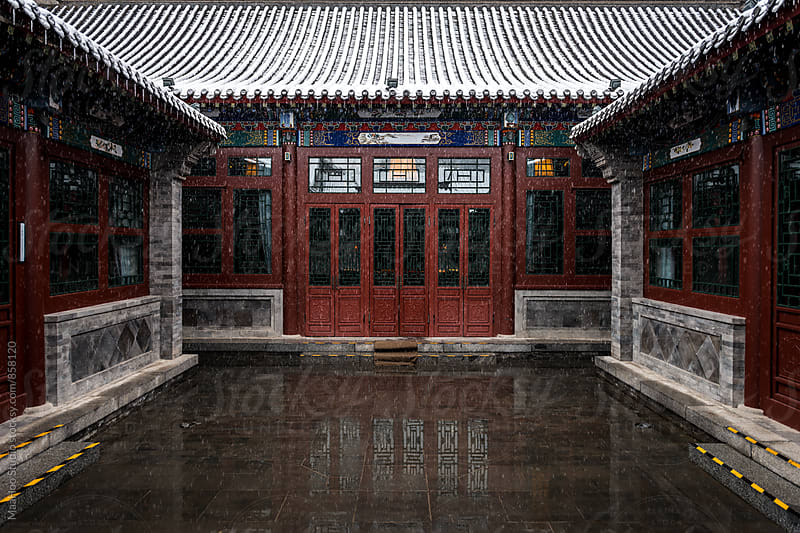Traditional house in China by Maa Hoo for Stocksy United