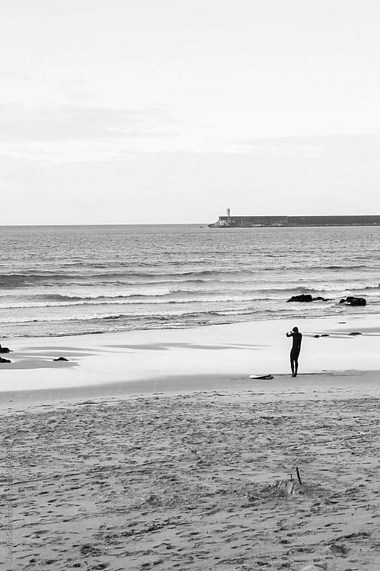 Surf at sunrise by Juanjo Grau for Stocksy United