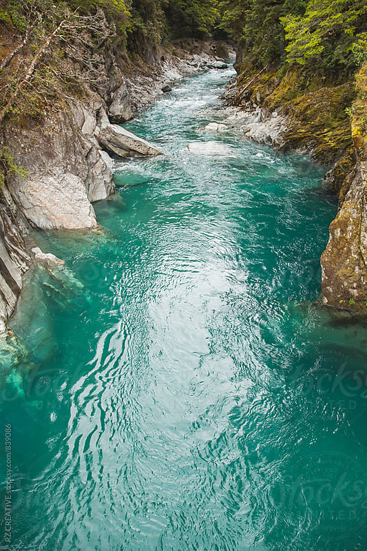 Pristine river runoff. by RZ CREATIVE for Stocksy United