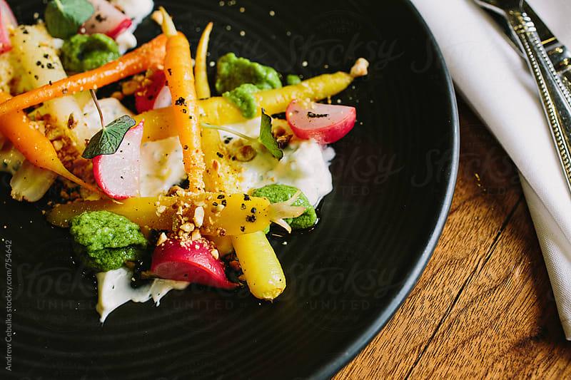 carrot salad - digital file by Andrew Cebulka for Stocksy United