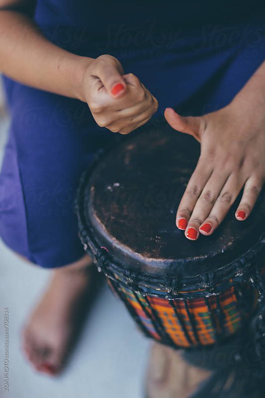 African Drum by ZOA PHOTO for Stocksy United