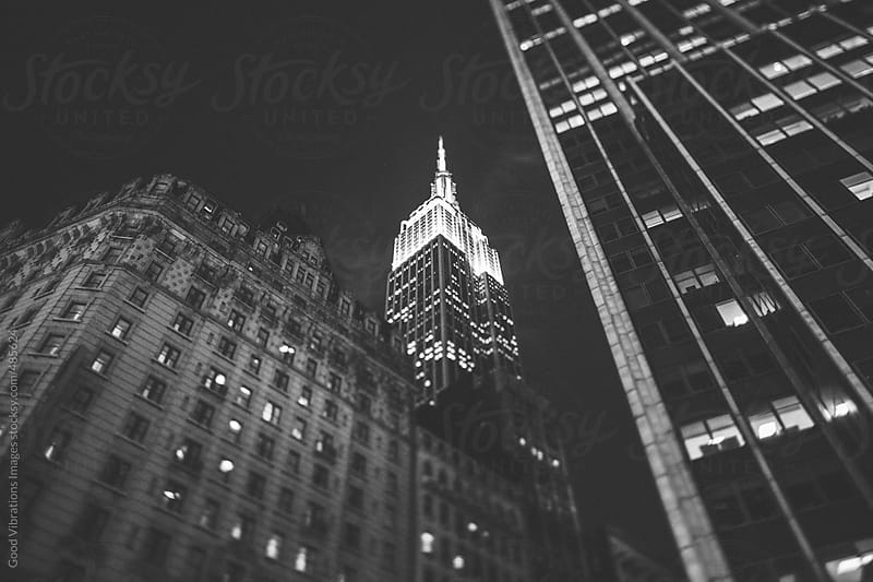 Empire State Building in Manhattan by Good Vibrations Images for Stocksy United