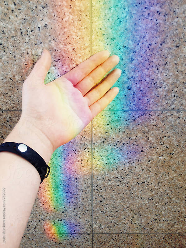 Touch the rainbow by Lyuba Burakova for Stocksy United