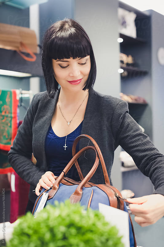 Woman during shopping  by Mauro Grigollo for Stocksy United