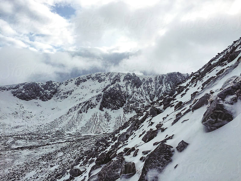 The Northern Corries in the Cairngorms by Neil Warburton for Stocksy United