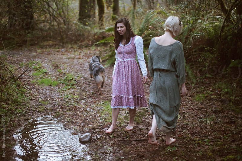 Forest Dress Women by Puddle by Kevin Russ for Stocksy United