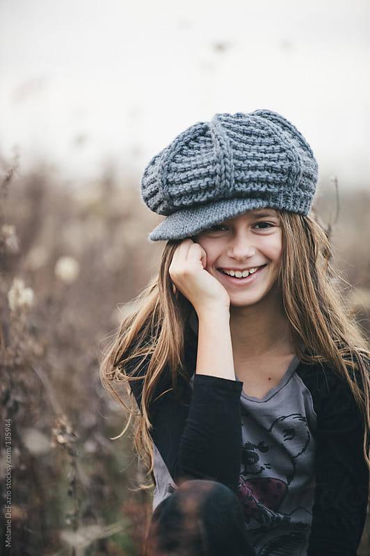 beautiful girl by Melanie DeFazio for Stocksy United
