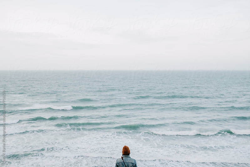 Looking to the Sea by Sara K Byrne Photography for Stocksy United