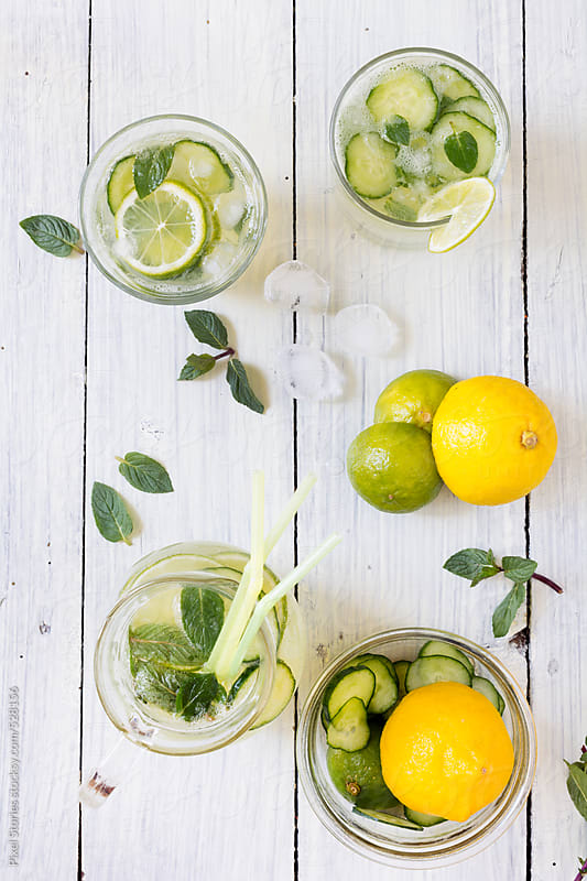 Detox water by Pixel Stories for Stocksy United
