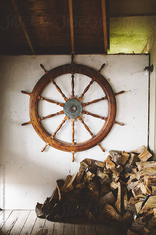 Nautical shed by Nate & Amanda Howard for Stocksy United
