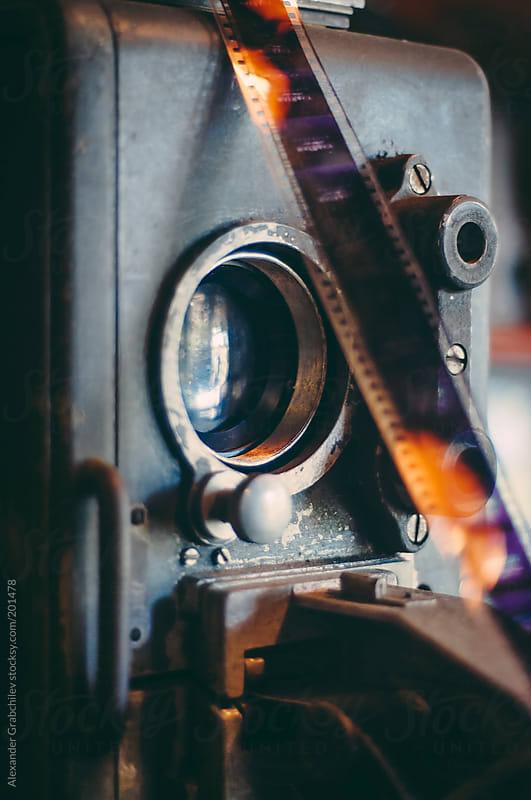 Vintage Cinema Camera by Alexander Grabchilev for Stocksy United
