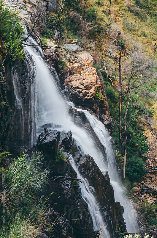 Waterfall at the Grampians, Victoria by Dominique Chapman for Stocksy United